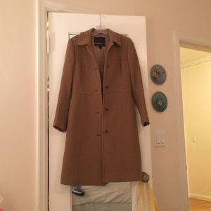 J. Crew double breasted insulated coat
